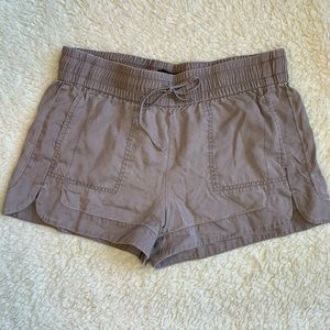 Elastic waistband shorts from Express